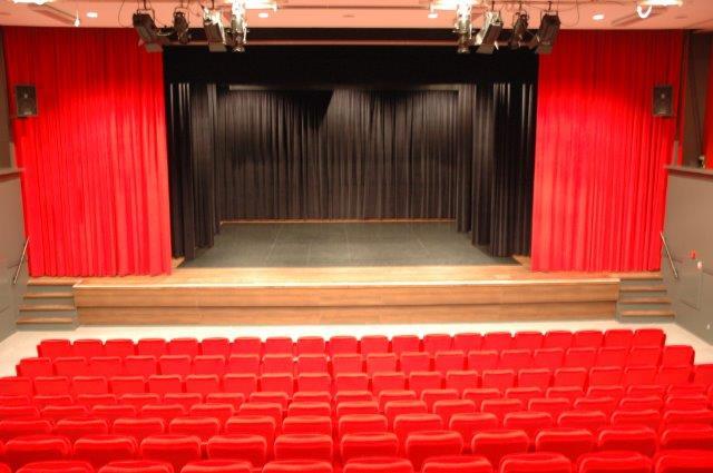 podium, theaterzaal, theater & film
