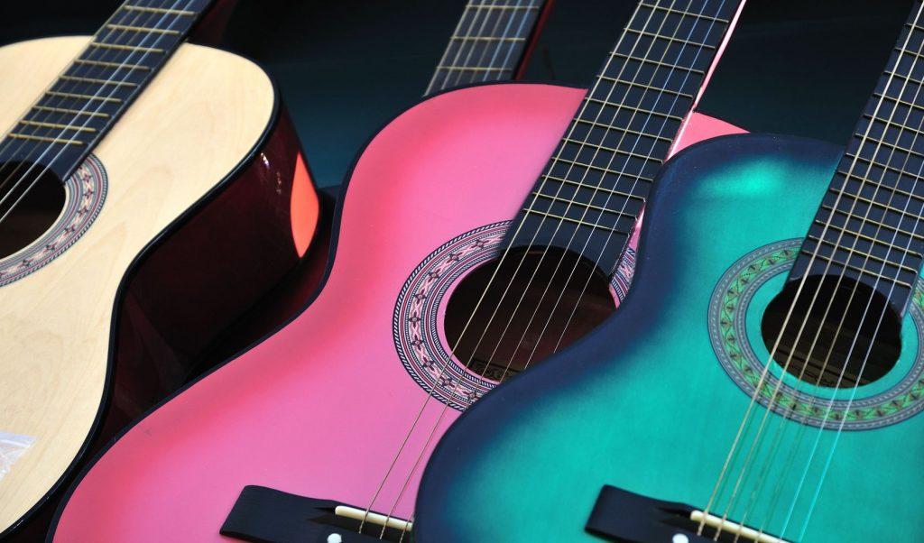 instrumentele lessen, gitaarles